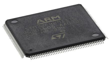 STMicroelectronics STM32F429IIT6, 32bit ARM Cortex M4 Microcontroller,  180MHz, 2 048 MB Flash, 176-Pin LQFP