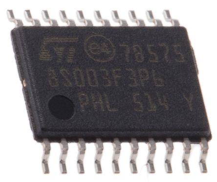 8-Bit MCU 16MHz 8KB Flash EEPROM TSSOP20