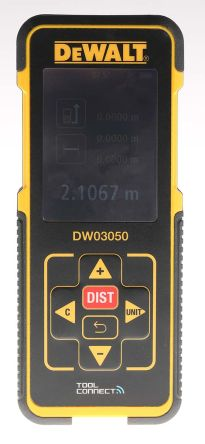 Dewalt DW03050 Laser Measure, 50 m Range, ±1/16 in Accuracy product photo