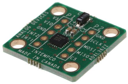 Analog Devices, Accelerometer Breakout Board for ADXL362, EVAL-ADXL362Z