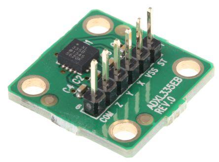 Analog Devices EVAL-ADXL335Z, Accelerometer Sensor Evaluation Board for ADXL335