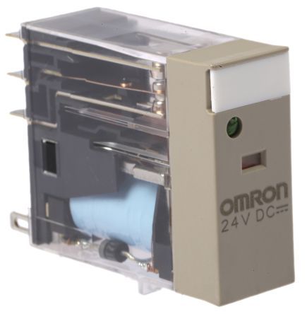 G2r 2 Sndi 24dc S Omron Dpdt Non Latching Relay Plug In