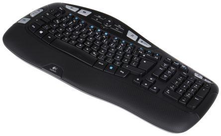 920 004484 logitech wireless usb keyboard qwertz rs components rh uk rs online com Logitech MK320 Full-Size Wireless logitech wireless keyboard k350 user manual