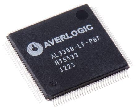 AL330B-LF-PBF, LCD Controller, 4kb 10-bit ADC, 3-Ch, AGC & ACC Support, 128-Pin LQFP