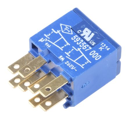 NO/NC Push Button Contact Block for use with Circular indicator 350872, Circular Latching 350822, Circular Momentary