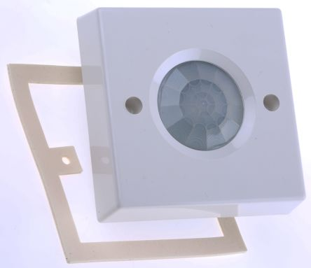 RS PRO Ceiling PIR Detector Presence Detector, PIR, Ceiling Mount, 220 → 240 V ac