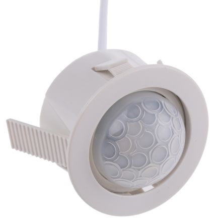 1.1W Miniature PIR Detector Presence Detector, PIR, Ceiling Mount, 230 V ac, 28mm Diameter product photo
