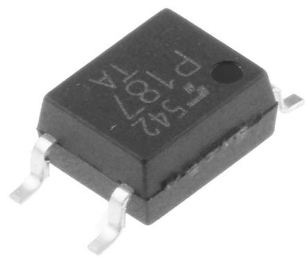 Transoptor TLP187 darlingtona 1-kanałowy DC SOIC 4 Toshiba 25