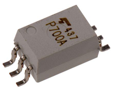 Toshiba TLP700ATP AC Input Optocoupler, Surface Mount, 6-Pin SDIP 100