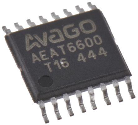 AEAT-6600-T16,Magnetic encoder IC,16 Bit