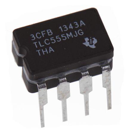 Texas Instruments TLC555MJG, Timer Circuit 2.1MHz, 8-Pin CDIP