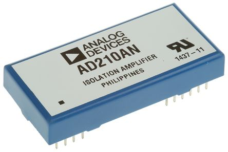 AD210BN Analog Devices, Isolation Amplifier, 15 V, 12-Pin PDIP