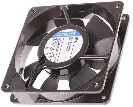 Fan Kit, ebm-papst, 9956L-KR0 AC 84m³/h 1850rpm 9956L Axial Fan, LZ120/1.5 Fan Lead, LZ30K Fan Guard 9.5W 230 V ac