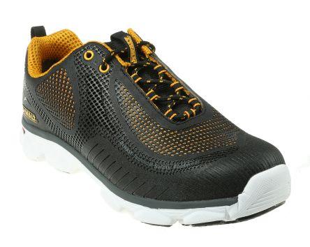 c0e71823026 DeWALT Krypton Black Steel Toe Men Safety Trainers, UK 10, US 11
