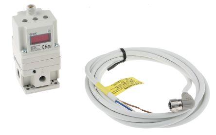Smc itv2050-332l2 electropneumatic air pressure regulator 0-10v.