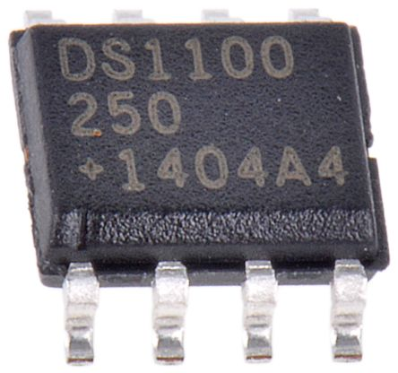 DS1100Z-250+, Delay Line, 5-Taps 250ns, 8-Pin SOIC