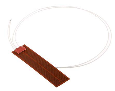 Polyimide Heater Mat, 25mm x 100mm x 0.2mm