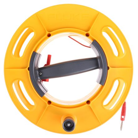 Fluke CABLE REEL 50M RD Ground Earth Cable Reel, For Use With 1623 Series, 1625 Series