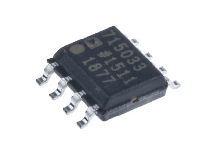 Analog Devices ADM7150ARDZ-3.3 Linear Voltage Regulator, 800mA, 3.3 V, ±1% 8-Pin, SOIC