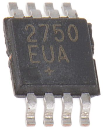 Maxim Integrated 2400  2500 MHz VCO Oscillator, 8-Pin μMAX MAX2750EUA+