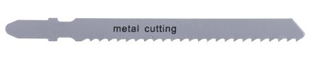 RS PRO T-Shank Jigsaw Blade Set For Metal, 75mm Cutting Length 5 Pack