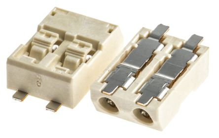 Molex Lite-Trap Series 4mm Pitch Straight PCB Connector, Surface Mount, 2 Way