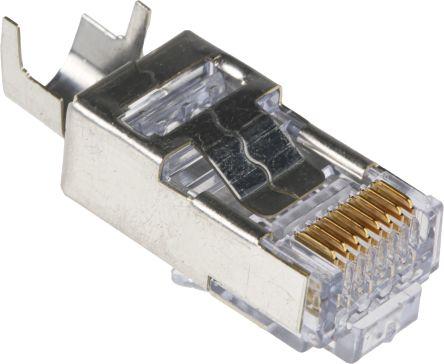 44915-0021 | Molex Cat6 8P8C-Way Male RJ45 Modular Plug Cable Mount ...