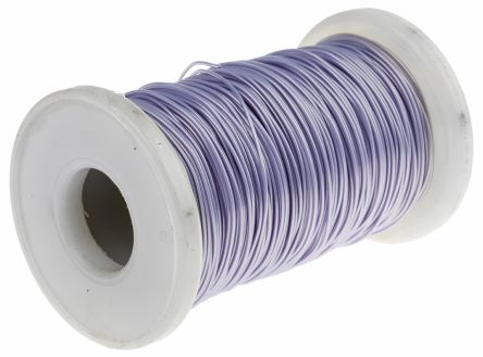 Purple Equipment Wire MIL-W-81822/13, 0.2 mm² CSA , 300 V 24 AWG, 50m product photo