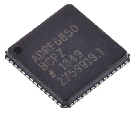 ADRF6850BCPZ, Demodulator Quadrature 250MHz 3.15 → 3.45 V 56-Pin LFCSP VQ