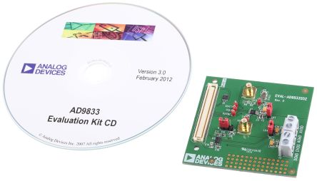 Analog Devices EVAL-AD9833SDZ, DDS Waveform Generator Evaluation Board for AD9833