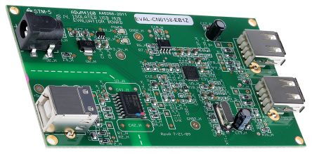 Analog Devices, iCoupler USB Hub Digital Isolator Reference Design for ADuM4160, EVAL-CN0158-EB1Z