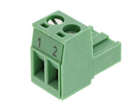 Phoenix Contact COMBICON PT 2pin 5mm Terminal Block 100 Pieces NEW