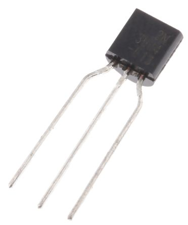 ON Semi 2N3904TFR NPN Transistor, 200 mA, 40 V, 3-Pin TO-92