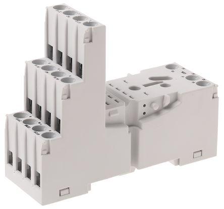 Strange Gzm4 Gray Relpol Relay Socket Din Rail Panel Mount For Use With Wiring 101 Vihapipaaccommodationcom