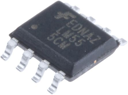 ON Semiconductor LM555CM, Timer, 8-Pin SOIC