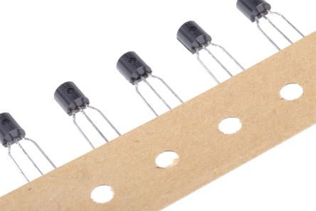 ON Semiconductor, 5 V Linear Voltage Regulator, 100mA, 1-Channel, ±5% 3-Pin, TO-92 LM78L05ACZXA