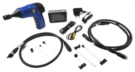 RS PRO 9mm probe Inspection Camera Kit, 1m Probe Length, LED Illumination