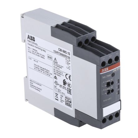 ABB Insulation Monitoring Relay with SPDT Contacts, 24 → 240 V ac/dc