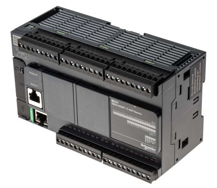 Schneider Electric Modicon M221 PLC CPU, Ethernet, ModBus, Profibus DP, USB  Networking Mini USB Interface