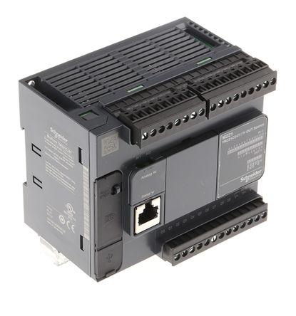 Schneider Electric Modicon M221 PLC CPU, ModBus Networking Mini USB Interface, 10000 Steps Program Capacity