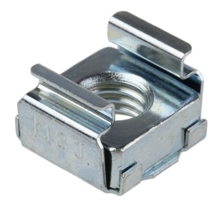 Steel RS PRO M8 Cage Nut