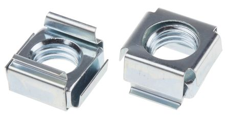 Steel RS PRO M10 Cage Nut