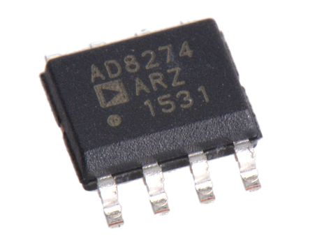 Analog Devices AD8274ARZ, Differential Amplifier 20MHz 8-Pin SOIC