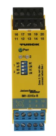 Turck 2 Channel Switch amplifier With Relay Output, 250 V max
