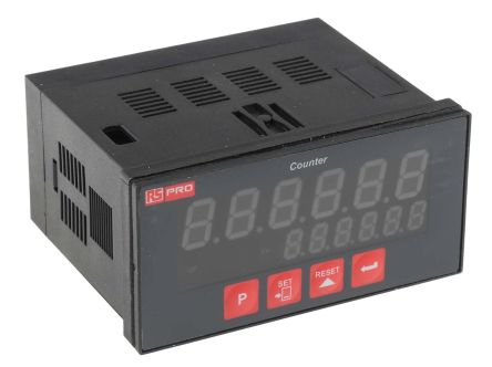 RS PRO, 6 Digit, LED, Digital Counter, 20kHz, 24 V
