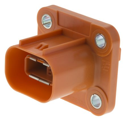 TE Connectivity HVA Series, Electric vehicle connector Socket, 250A