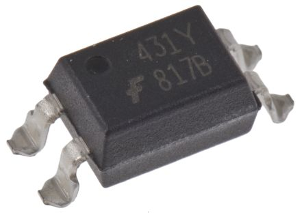 ON Semiconductor, FOD817BSD DC Input Transistor Output Optocoupler, Surface Mount, 4-Pin MDIP