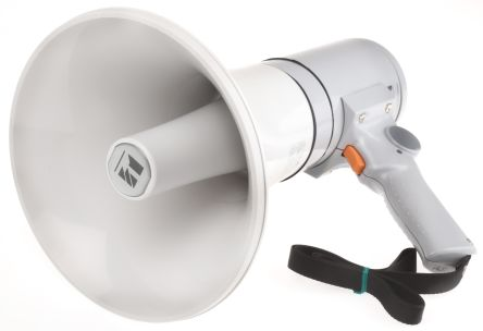Grey Hand Grip Megaphone, ER-1215, 15 W product photo
