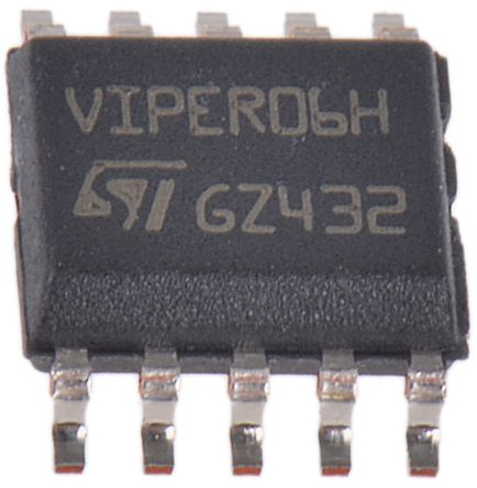 STMicroelectronics VIPER06HS AC/DC LED Driver, PWM Controller 115 kHz 10-Pin, SSOP
