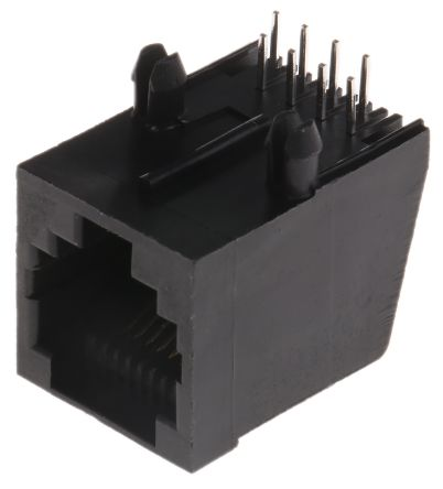 8P8C-Way Female RJ45 Modular Jack Right Angle UTP product photo